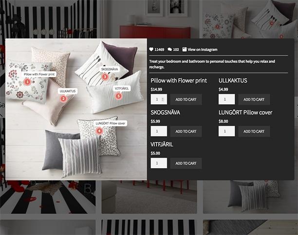 LookBook WooCommerce - Shop by Instagram - Pode ser comprado com tags de produto - 7