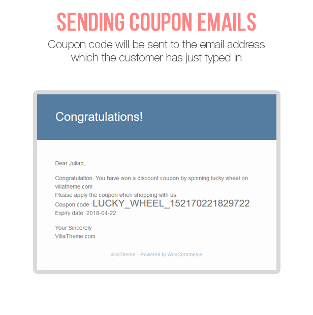 WooCommerce Lucky Wheel - Spin to win - 9