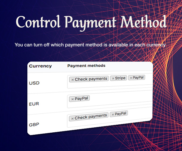 WooCommerce Multi Currency - Currency Switcher - 8
